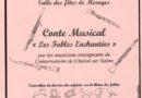 Conte Musical «les fables enchantées»